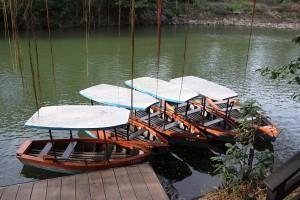 La Mesa Eco-Park boats