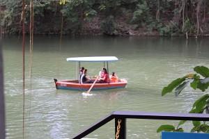 La Mesa Eco-Park boat ride