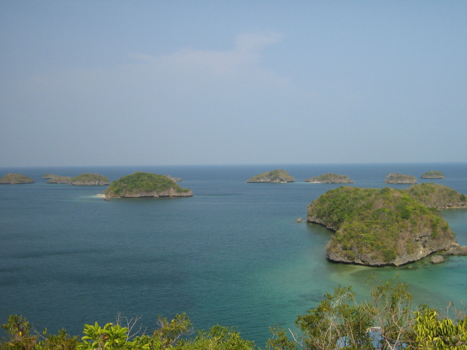 Some of the Hundred Islands