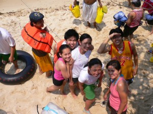 A photo of us just as we arrived in Marcos Island