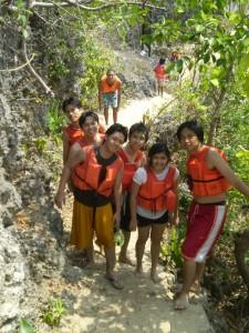 Use trekking in Marcos Island
