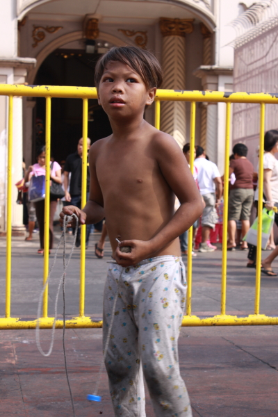 Another kid in Quiapo