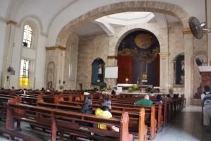 Inside Sta. Cruz Church