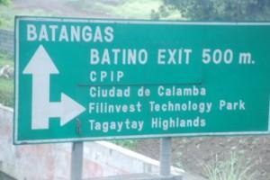 Batangas going to Puerto Galera