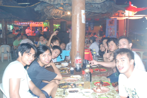 Dinner White Beach Puerto Galera