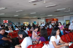 Inside Batangas terminal