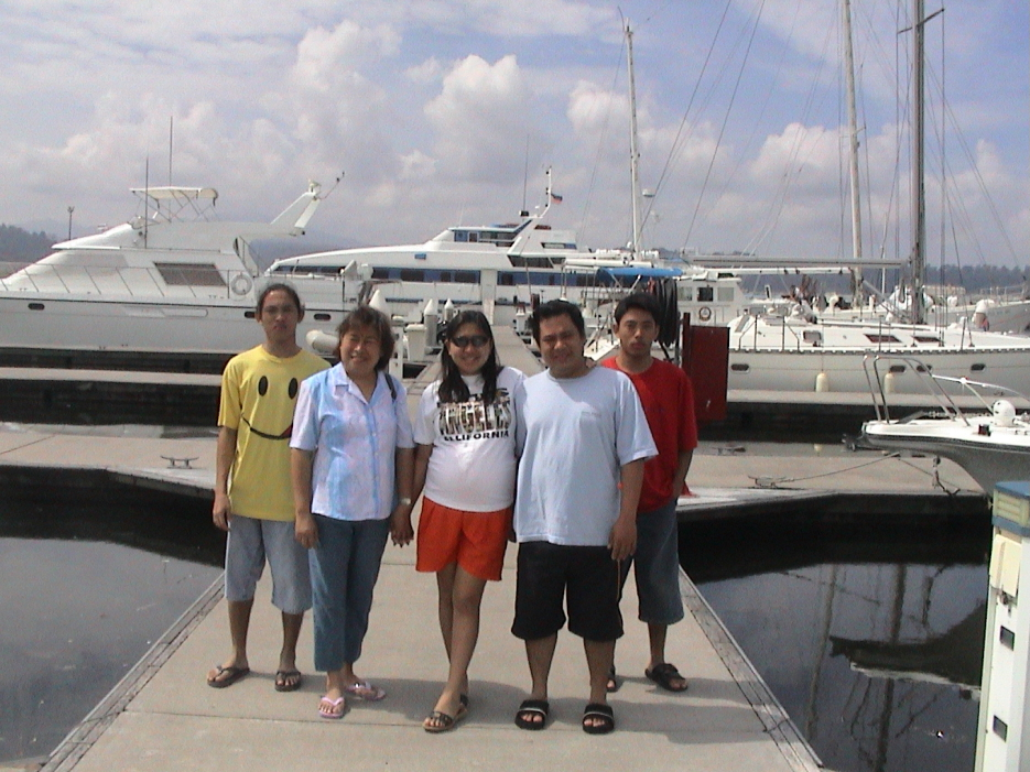Boat dock in Subic Yacht Club