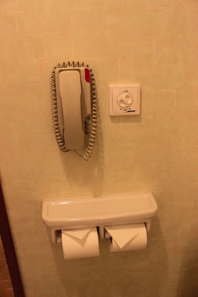 bathroom phone