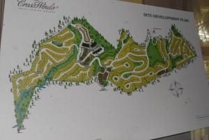 Crosswinds Tagaytay map
