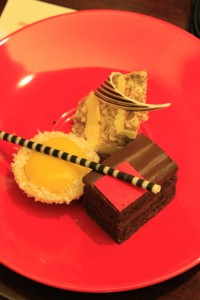 Sweet desserts of Shangri-la Harbin