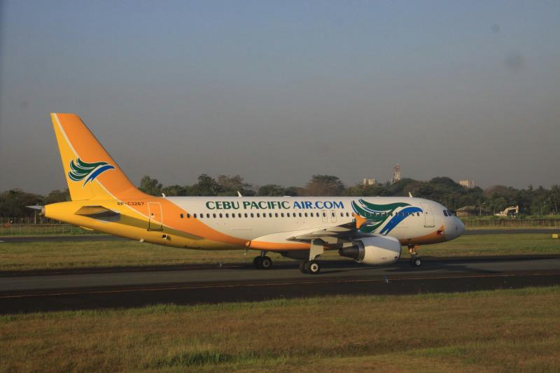 RP-C3267, an Airbus A320-214 operated by Cebu Pacific Air