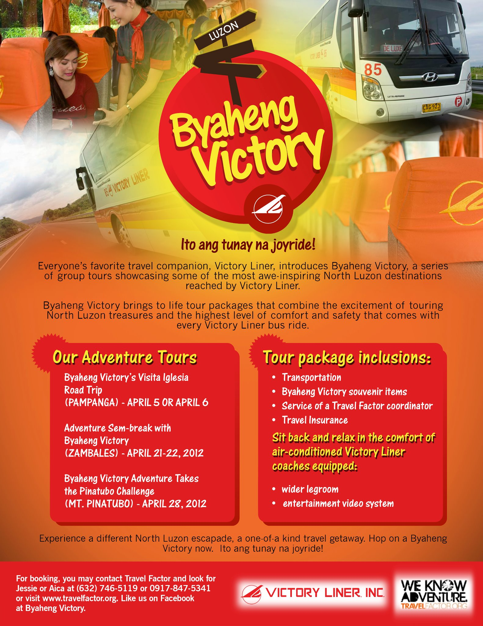 Byaheng Victory Group Tours