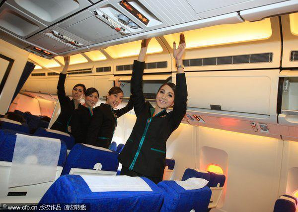 Transsexual Flight Attendants