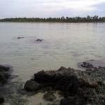 Barangay Apad as viewed from Kanaway Island