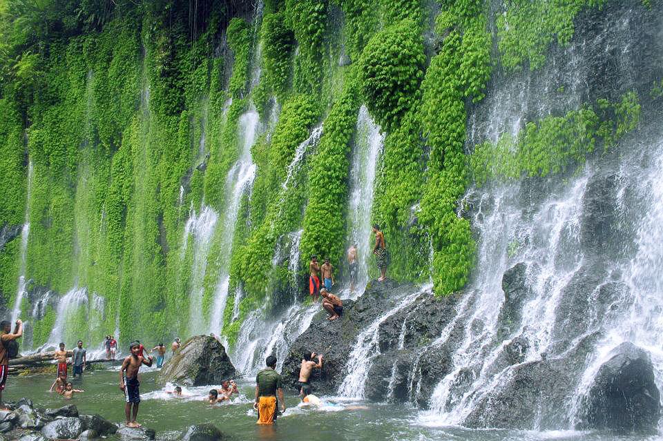 Asik-Asik Falls in Dado, Alamada, North Cotabato