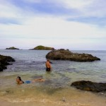 Beach Kanaway Island