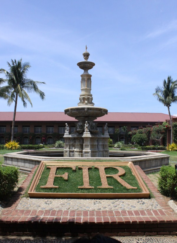 Fountain Garden at Fort Ilocandia Resort Hotel