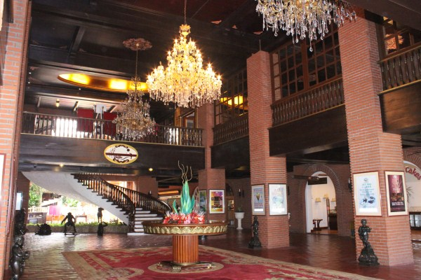 Inside Fort Ilocandia Resort Hotel