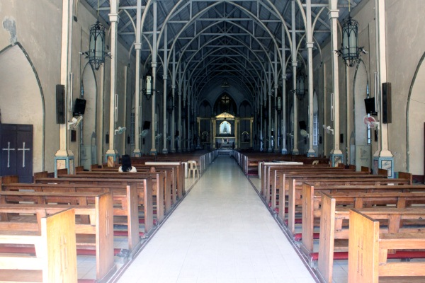 Inside Saint Augustine Parish Church