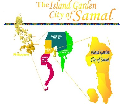 Island Garden City of Samal (Courtesy of http://samalcity.gov.ph)