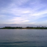 Jomalig Island as seen from our boat