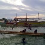 Kids at Apad Jomalig Island
