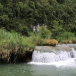 Loboc River Waterfall