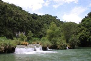Loboc River Waterfalls