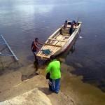 Mayor Rodelo Tena to ride a flatboat