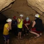 Mud inside Kamira Cave