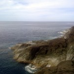 Philippine Sea as viewed from the top of Manlanat Islands