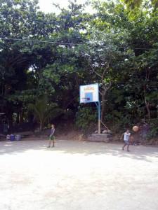 Sitio Landing Basketball Court