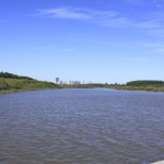 Songhua River viewed from Sun Island