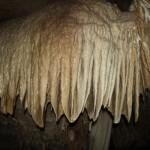 Stalactites inside Kamira Cave