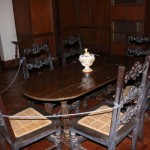 Table inside Malacañang of the North