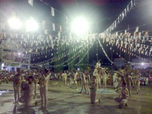 Talisoy Dancers Performing
