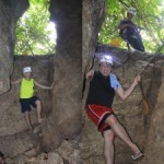 Entrance of Kamira Cave