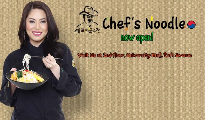 Chef's Noodle Now Open