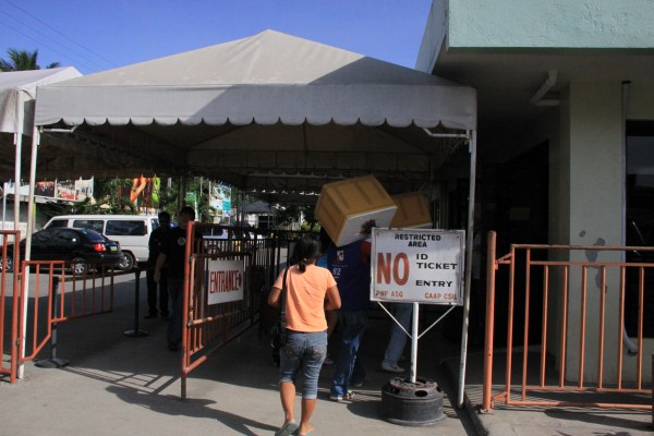 Tagbilaran Airport Entrance/Exit