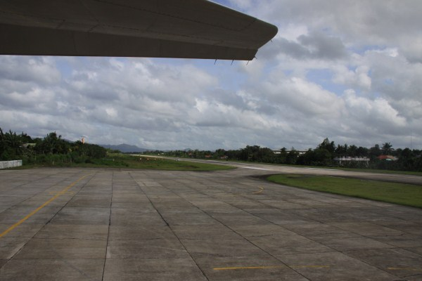 Tagbilaran Airport Runway