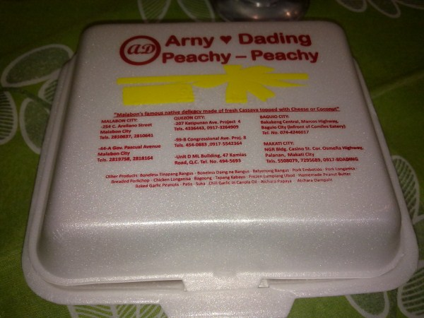 Arny & Dading Peachy-Peachy Container