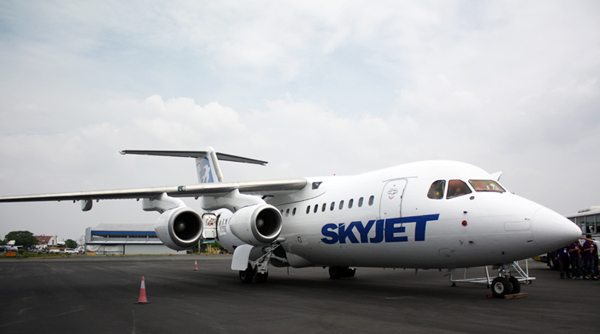 Skyjet British Aerospace 146