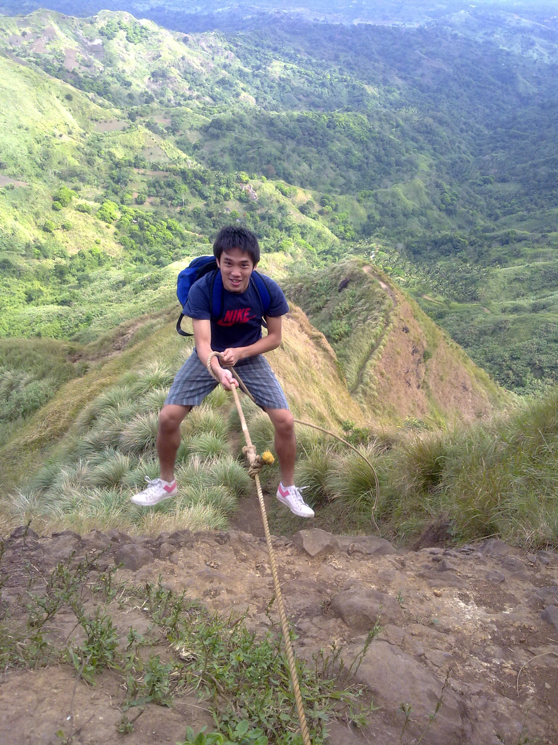 Hiking Mount Batulao