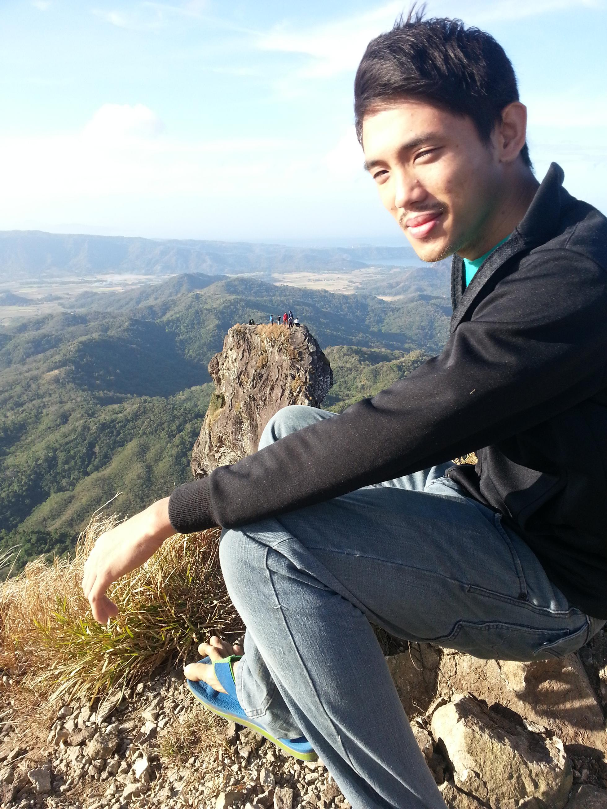 At  the Summit of Pico de Loro