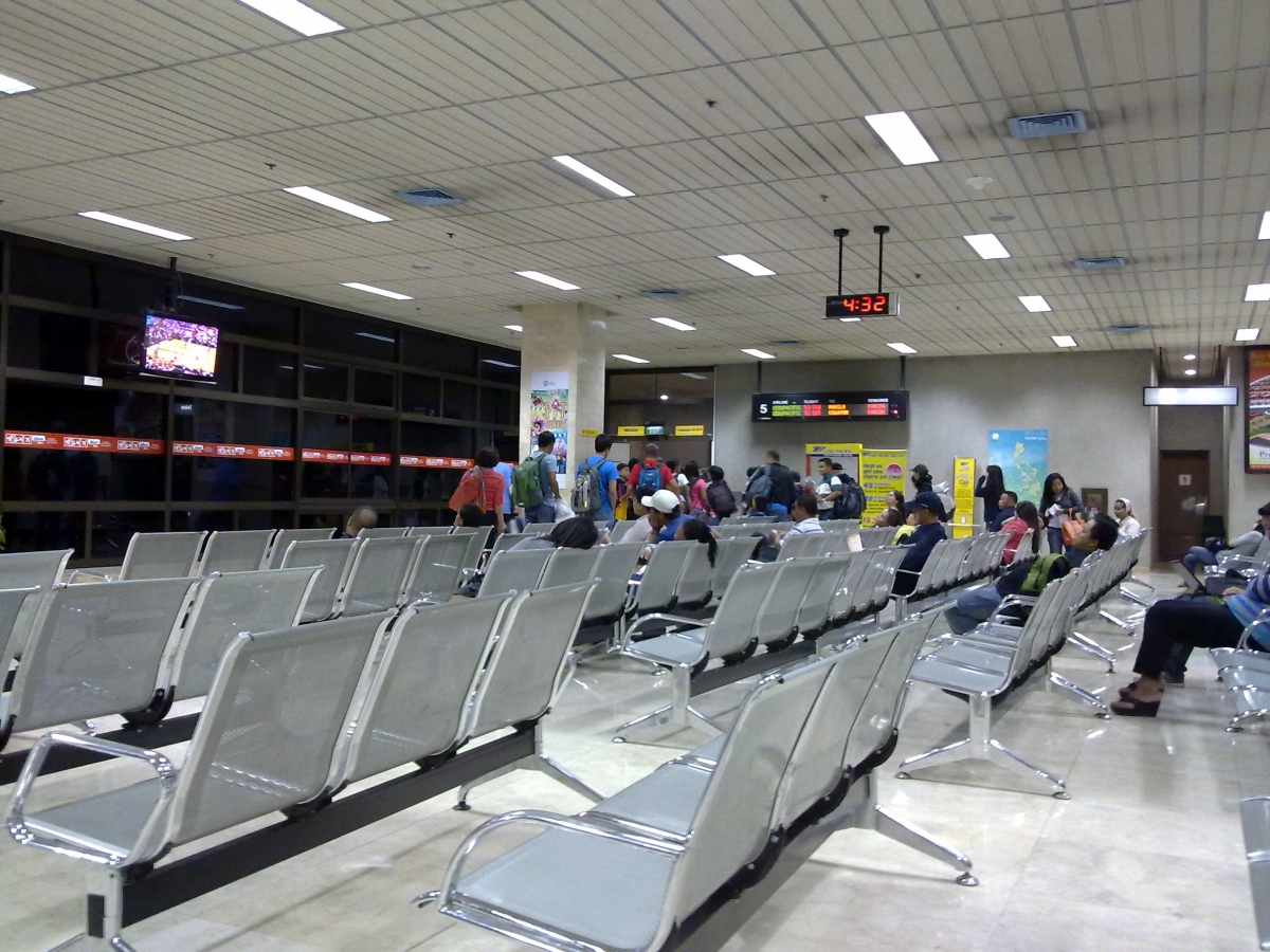 Gate 05 of Mactan-Cebu International AIrport