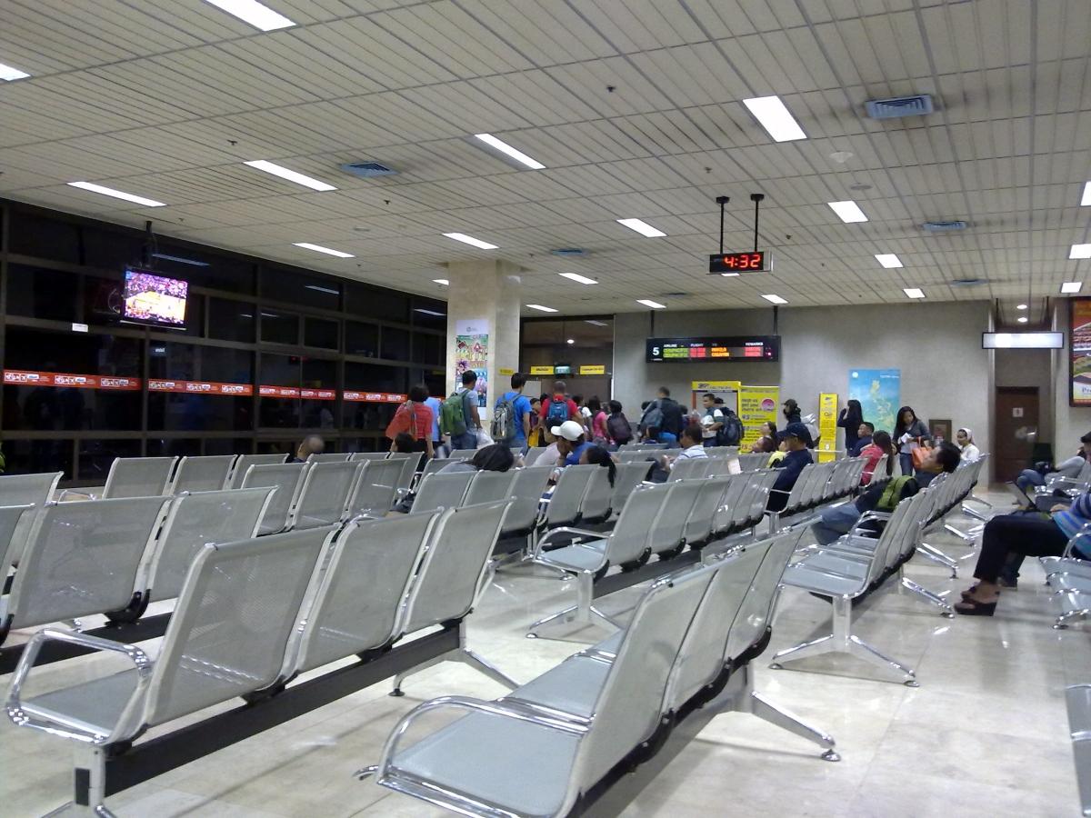 Gate 05 of Mactan-Cebu International Airport