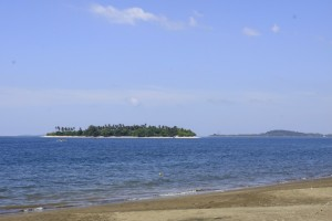 Potipot Island seen from Uacon Beach