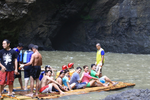 Bamboo Rafting at Cavinti Falls