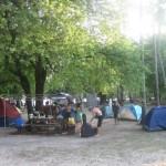 Campsite in Potipot Island