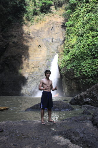 Intrepid Wanderer at Cavinti Falls